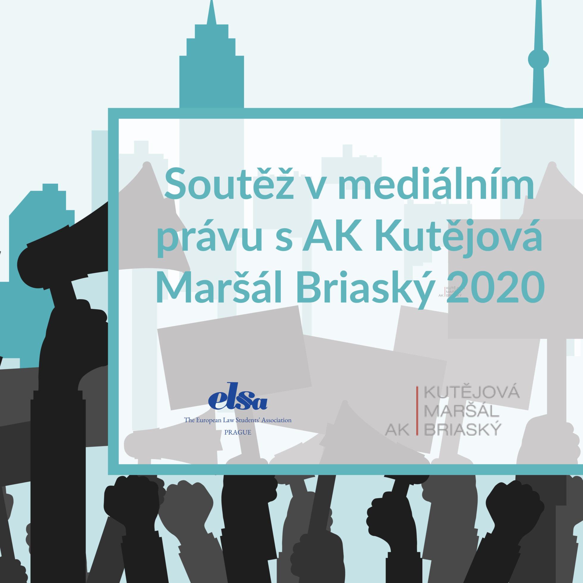 Soutěž v mediálním právu s AK Kutějová Maršál Briaský 2020